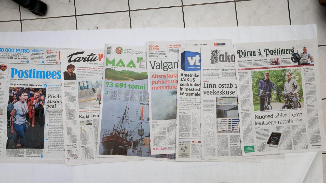 Paberlehed kaotavad lugejaid, kõige rohkem vähenes vasakpoolse Eesti Päevalehe tiraaž