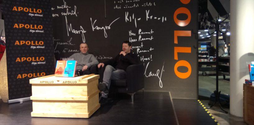 Leo Kunnas esitles Solarise Apollos uut romaani
