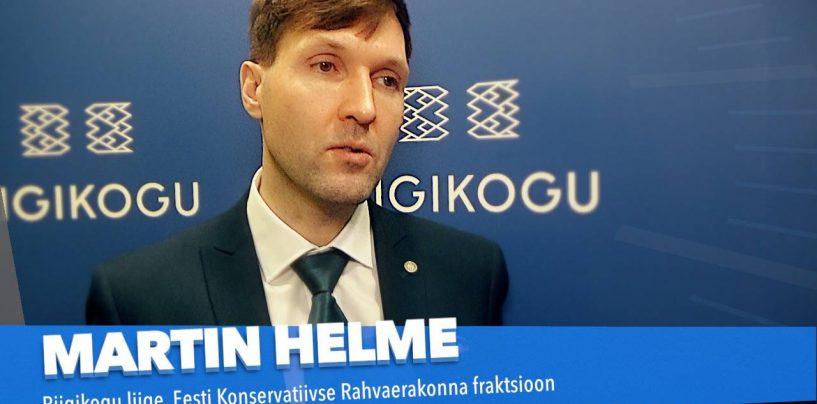 Martin Helme: ärmatamise peatükki ei suleta enne, kui leitakse vastutajad