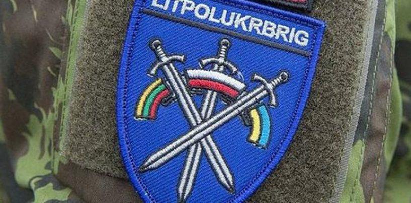 Leedu–Poola–Ukraina ühisbrigaad jõudis täieliku lahinguvalmiduseni