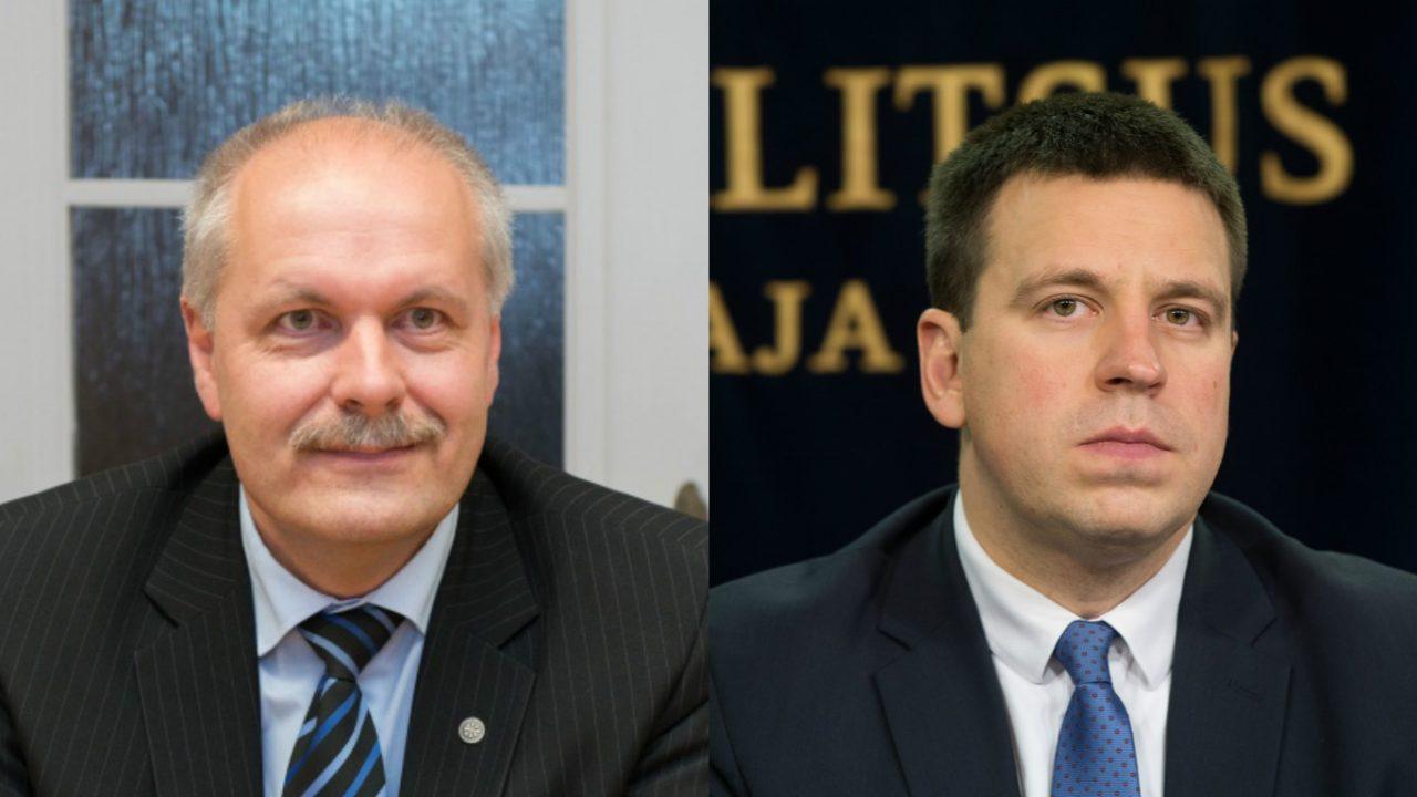 Riigikogu saadik Henn Põlluaas pani peaminister Jüri Ratase vingerdama