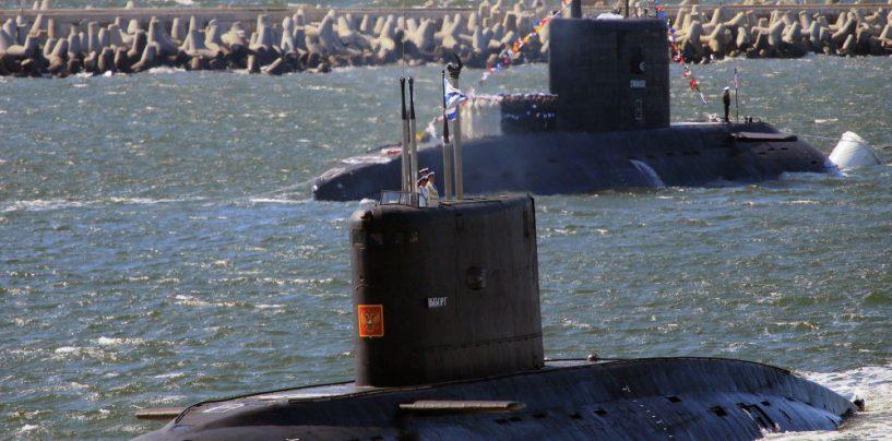 Vene sõjaväemanöövrid laienevad: allveelaev harjutab Läänemerel torpeedode tulistamist