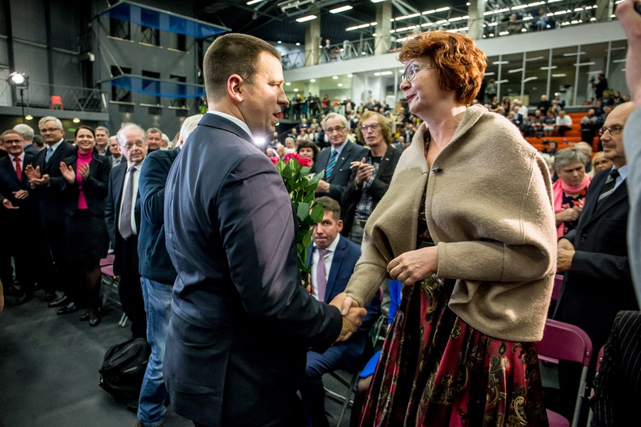 Jüri Ratas, Yana Toom