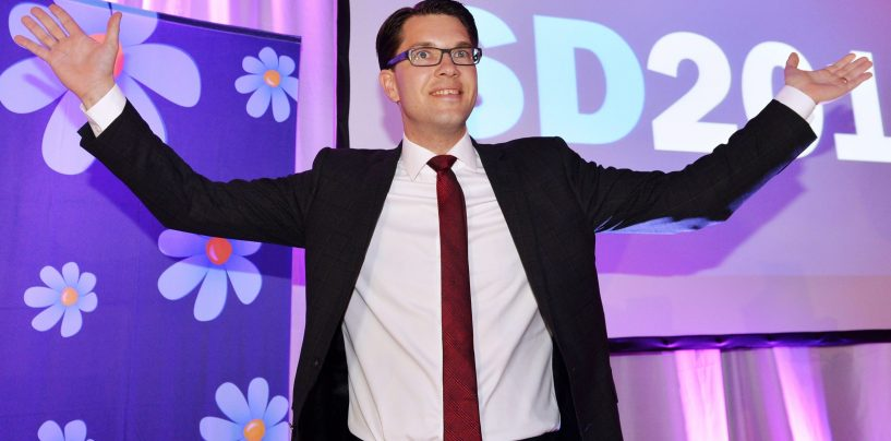 Rootsi Demokraadid tõusid populaarsuselt teiseks erakonnaks