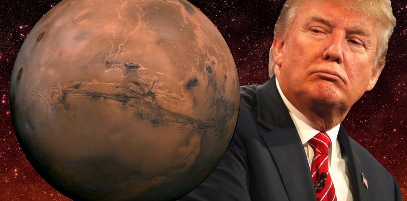 Trump lubas viia inimese Marsile
