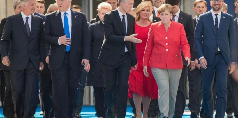 Trump ergutas Euroopat rohkem NATO-sse panustama ja enda eest seisma