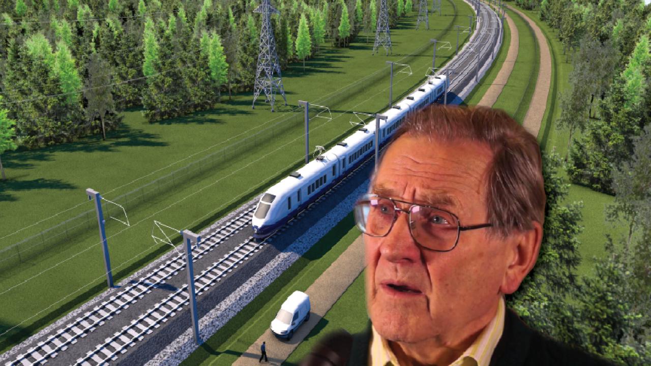 Rail Balticu teemaline arutelu koos professor Rein Einastoga