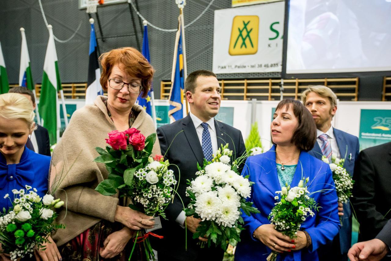 Yana Toom, Jüri Ratas, Mailis Reps