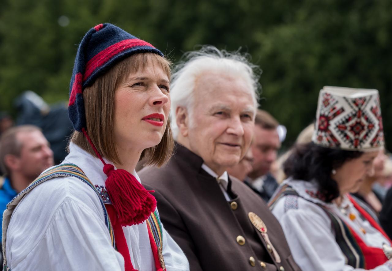 Kersti Kaljulaid, Arnold Rüütel