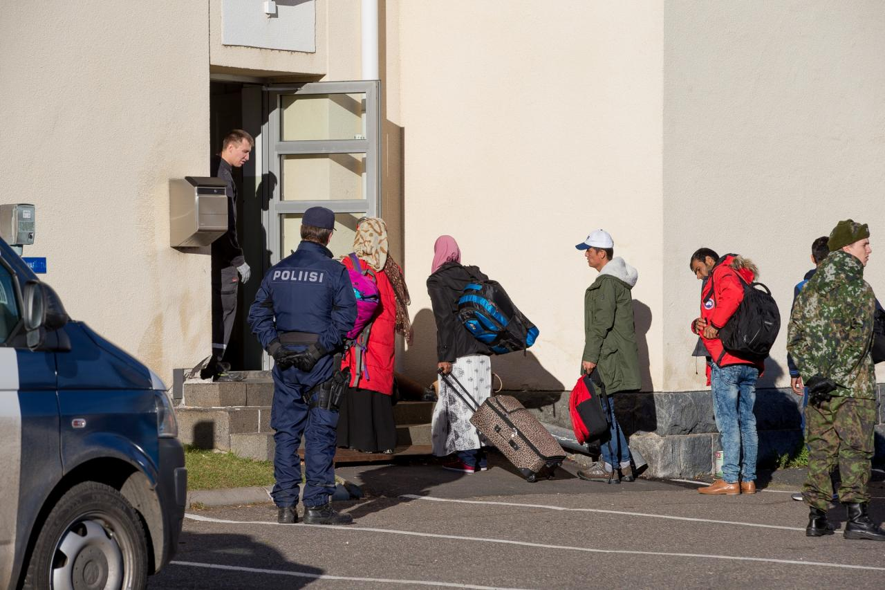Tornio pagulaskeskus Soomes