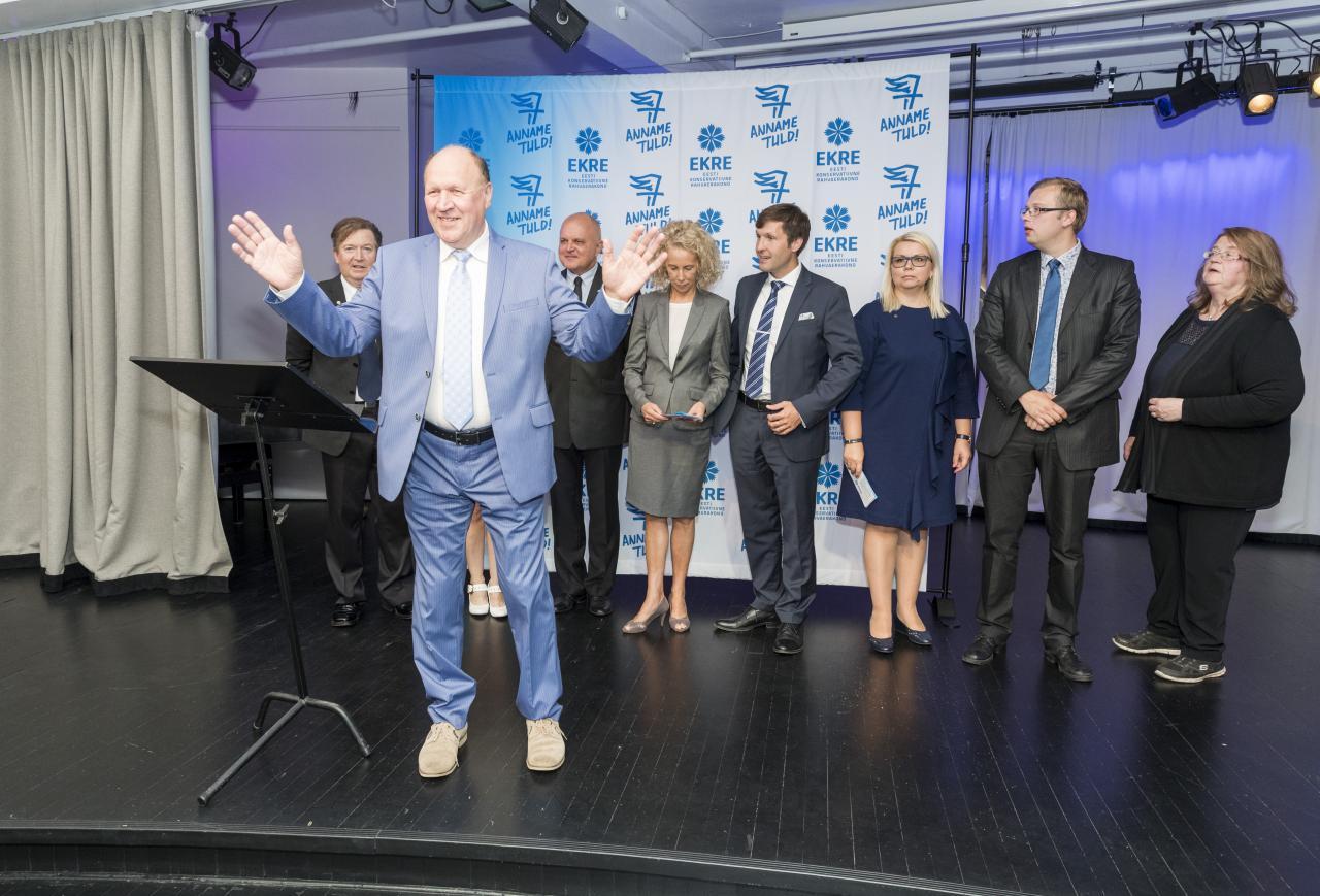 EKRE valimiskampaania avaüritus 9. augustil 2017