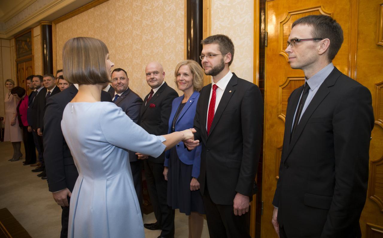 Kaljulaid ja Ossinovski