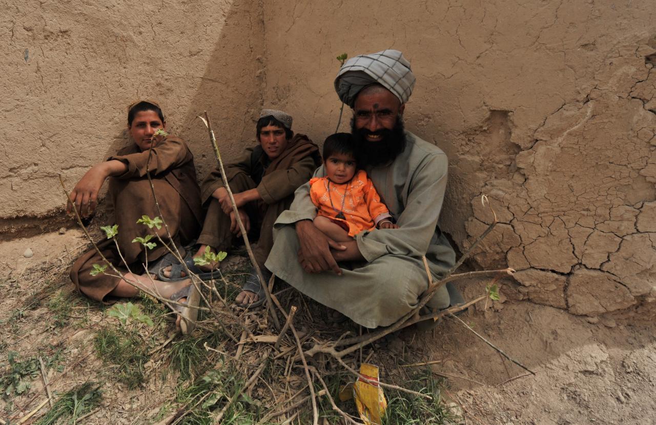Afgaani põgenikud