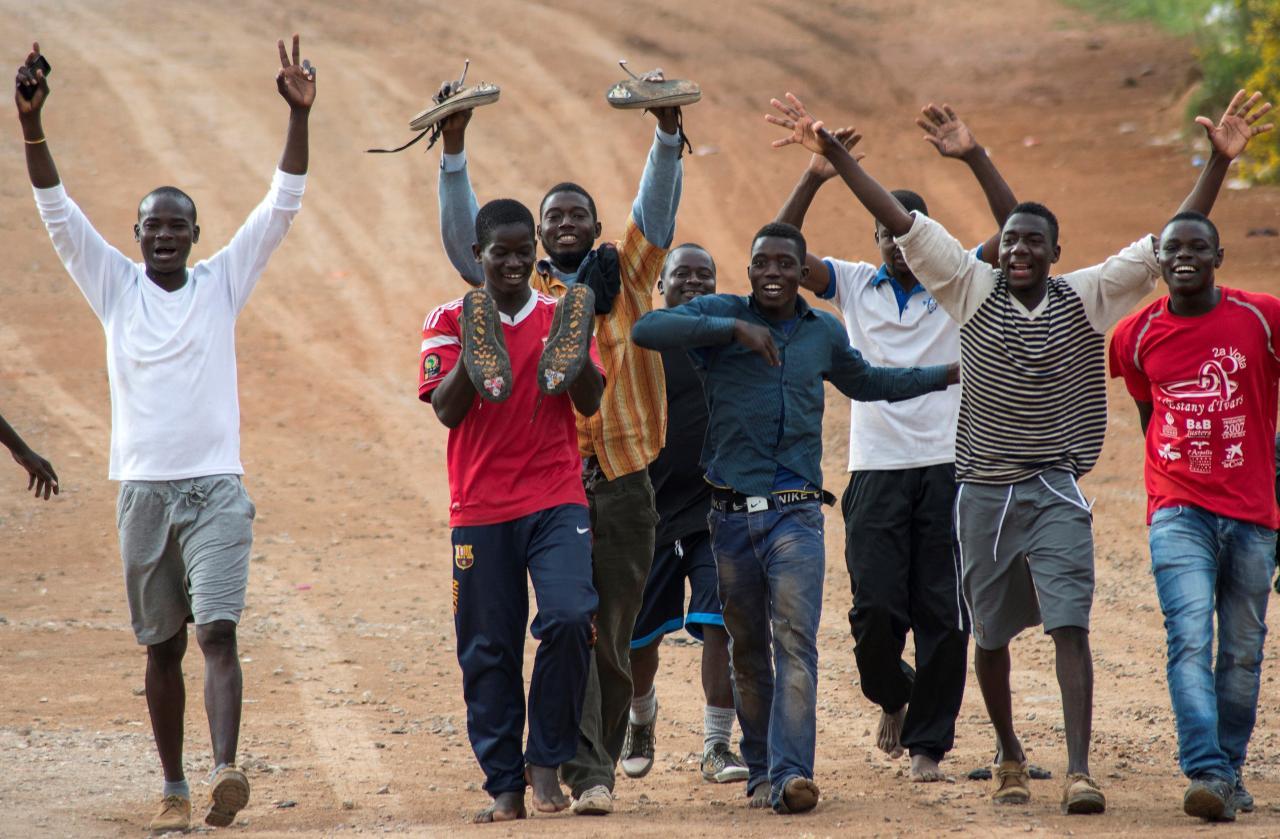 Aafrika immigrandid
