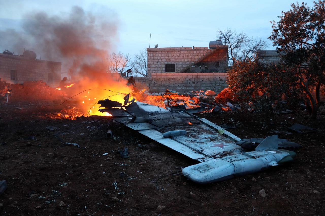 Vene lennuk Süürias