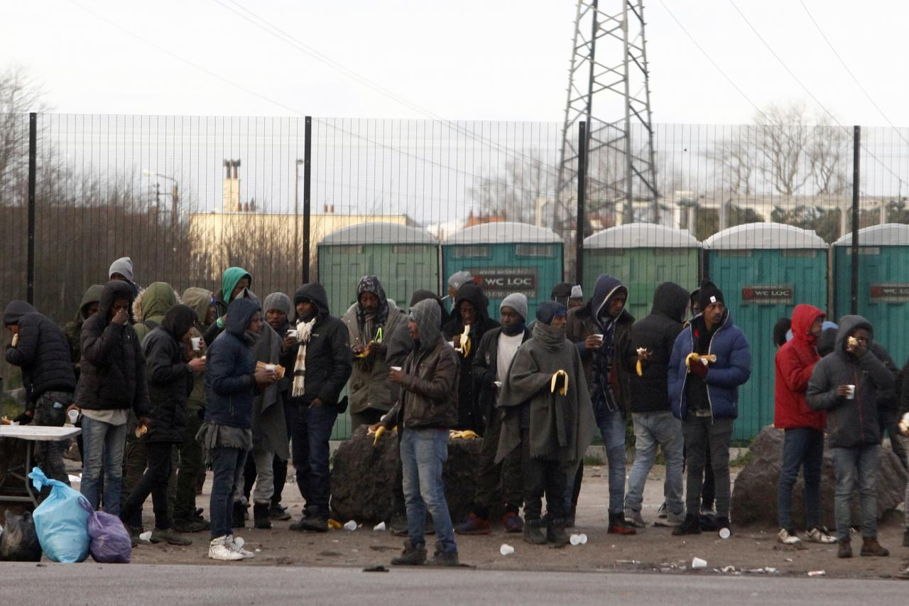 Immigrandid Calais`is