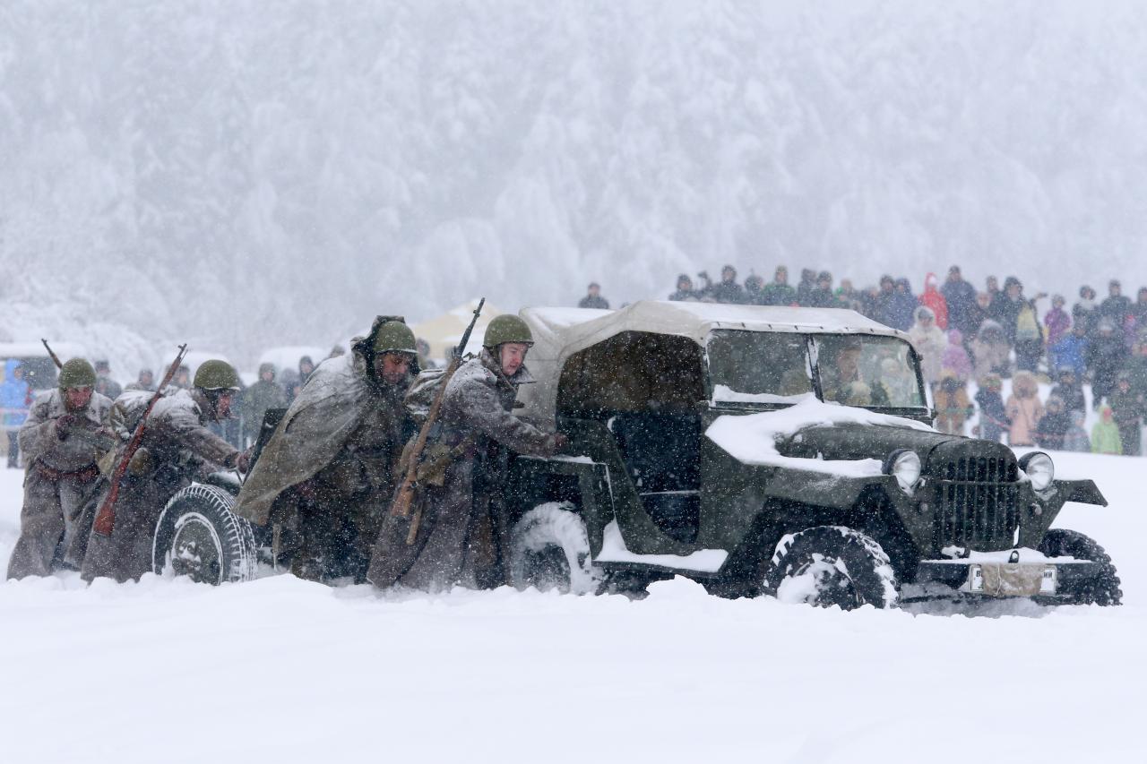 Vene sõdurid