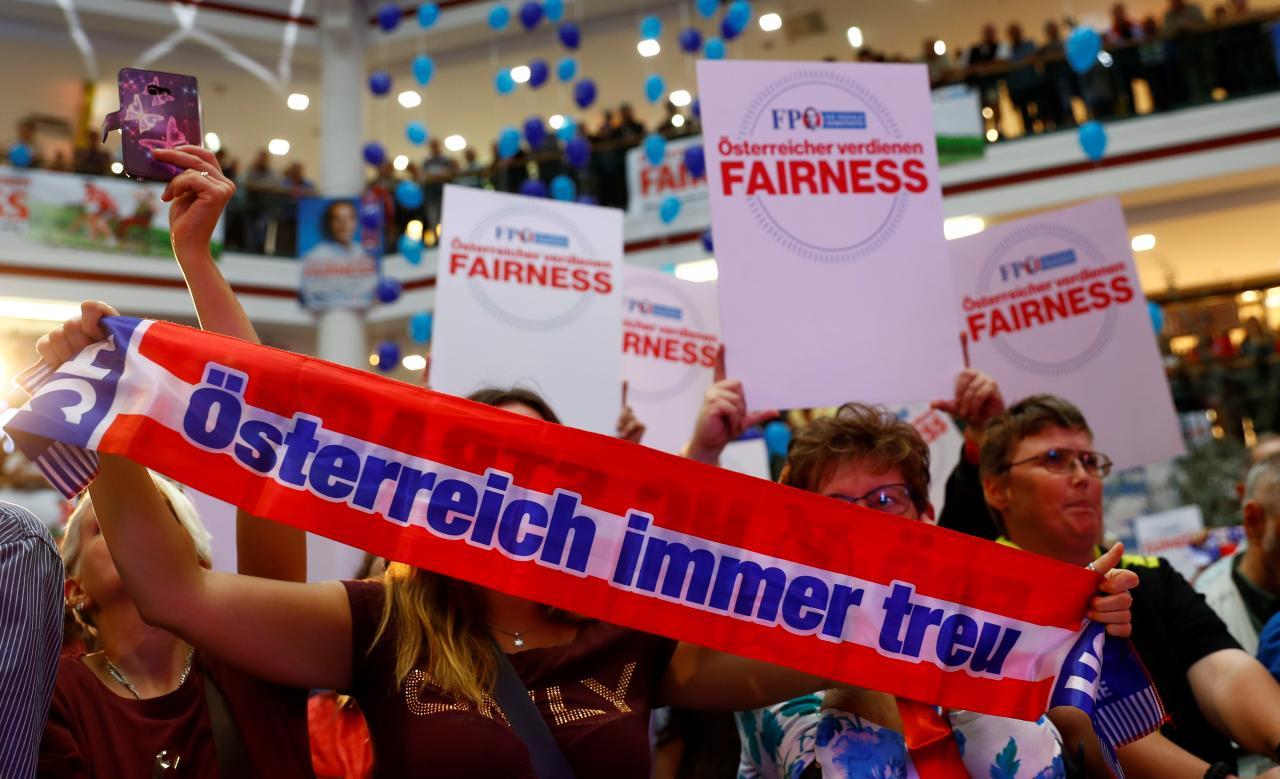 Austria Vabaduspartei toetajad