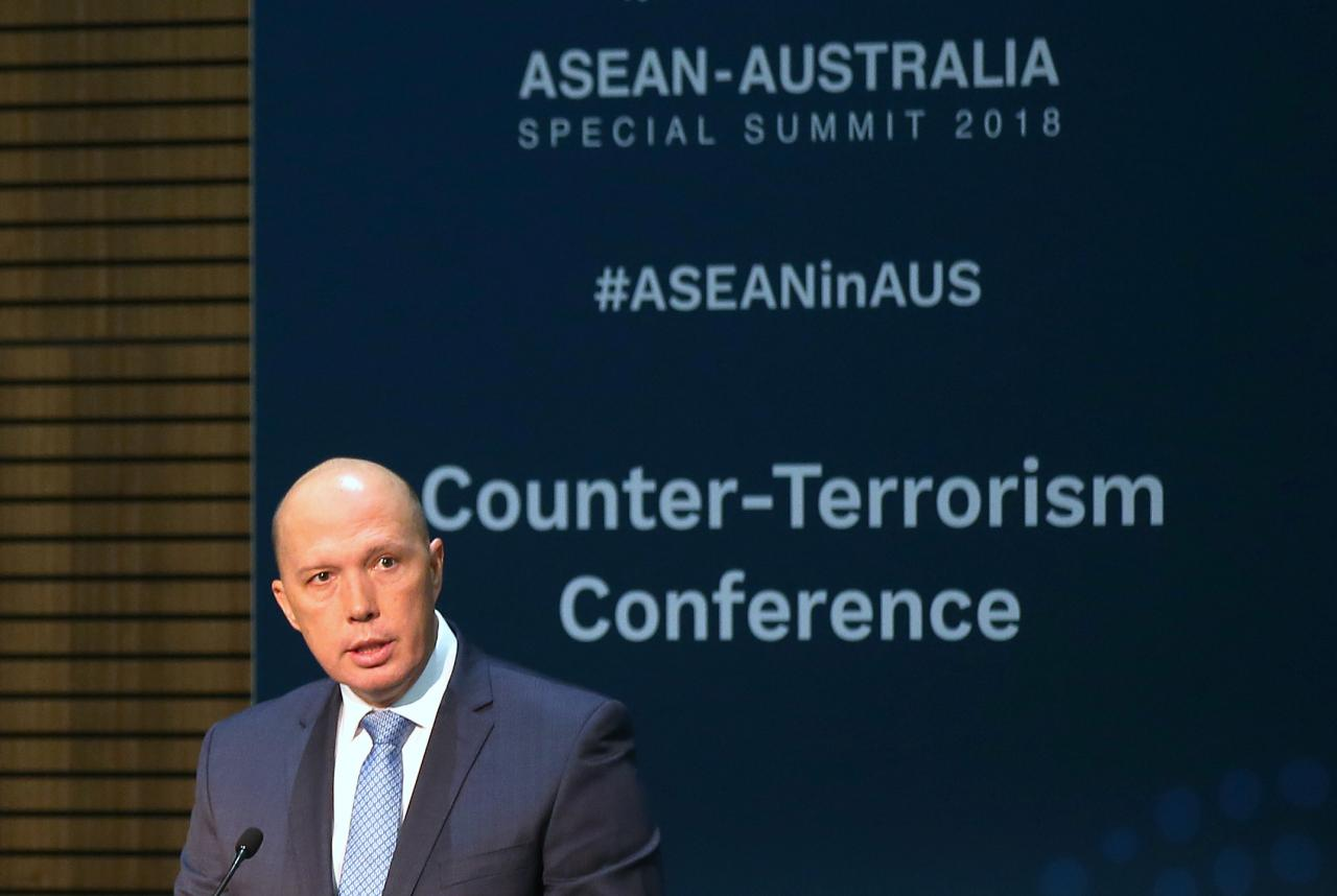 Austraalia minister Peter Dutton