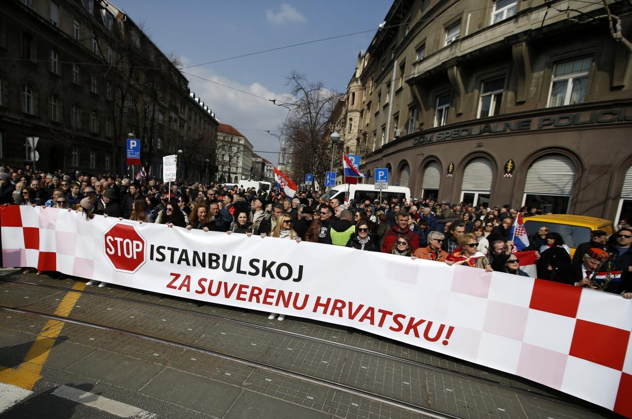 Horvaatia Istanbuli konventsiooni vastu