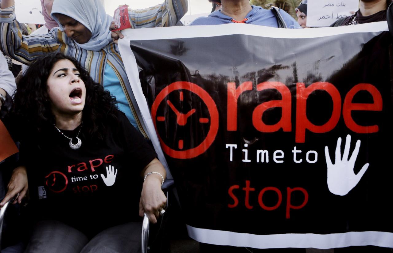 Protest vägistamiste vastu Egiptuses