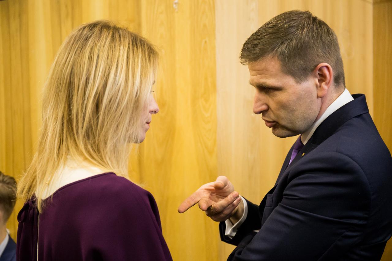 Kaja Kallas ja Hanno Pevkur