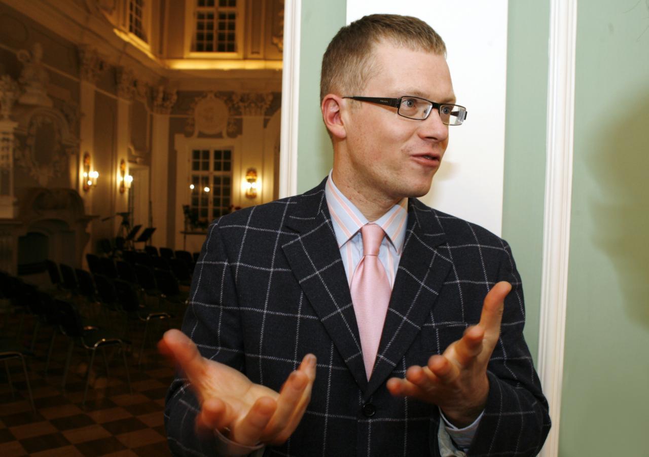 Uus Riigihalduse minister Janek Mäggi