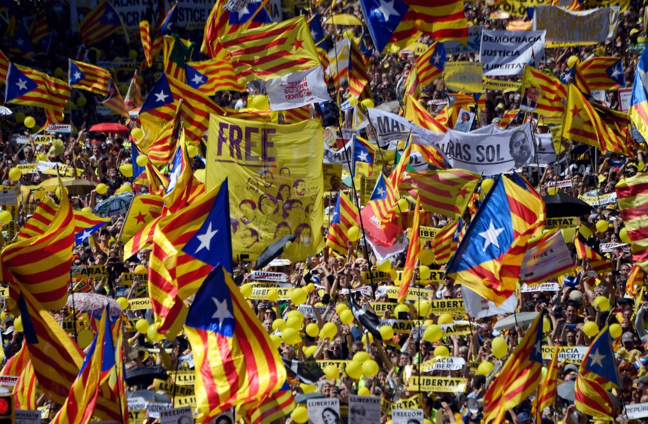 Kataloonia meeleavaldus