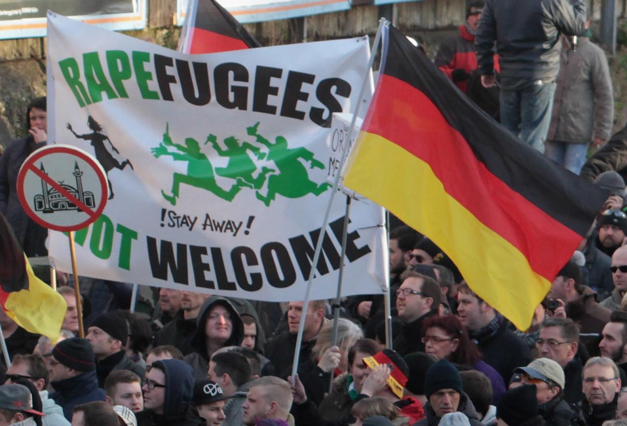 Miiting pagulaste vastu