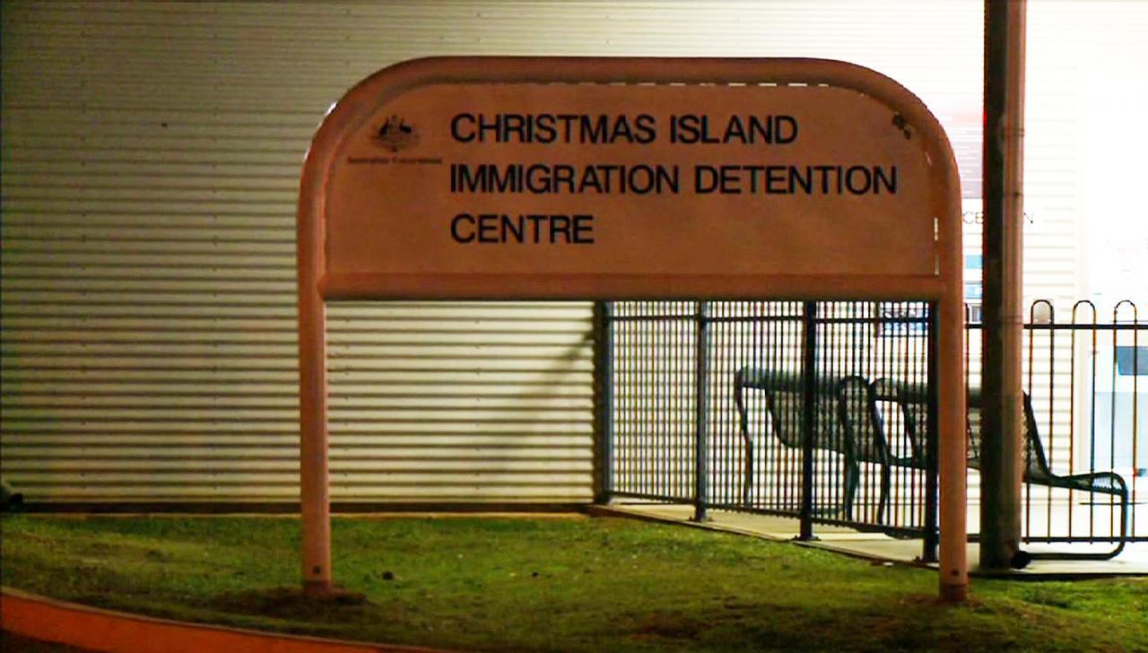 Põgenikekeskus Jõulusaarel Austraalias.
