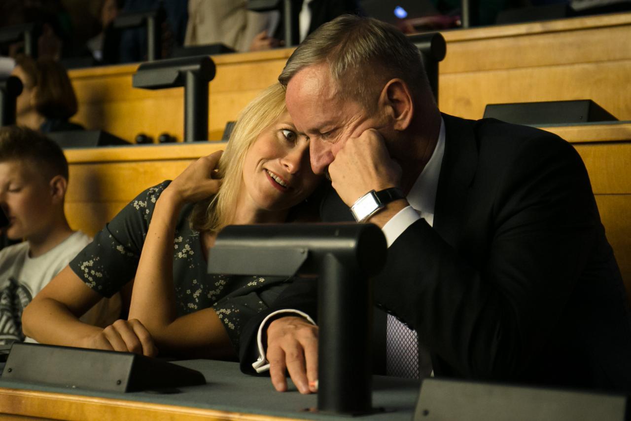 Poliitperekond Siim ja Kaja Kallas.