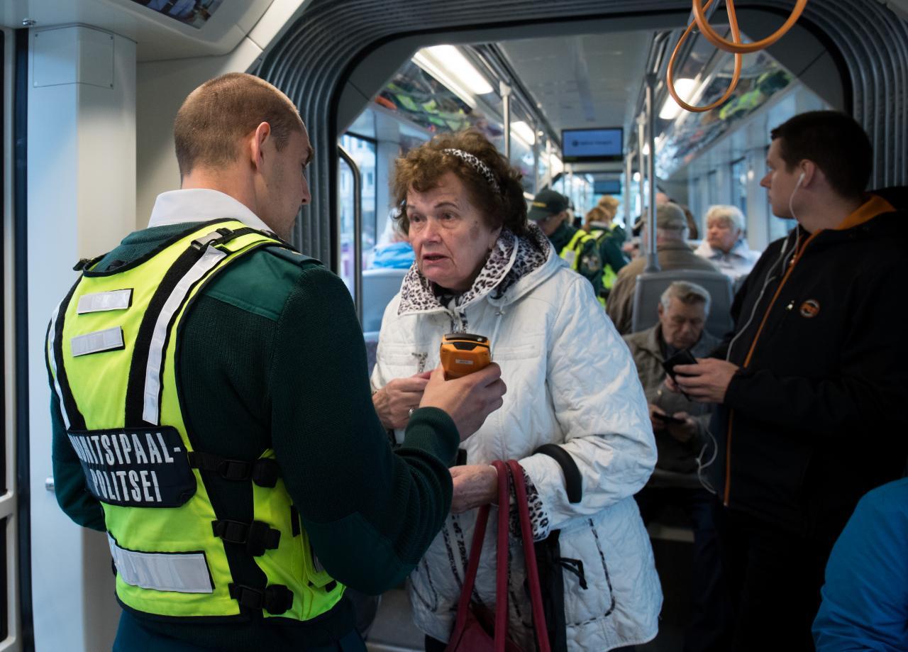 Tasuta ühistransport Tallinnas.
