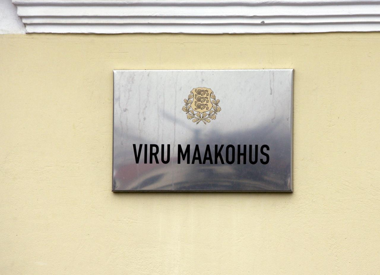 Viru Maakohus andis krimijõugu tipptegijale vabaduse.
