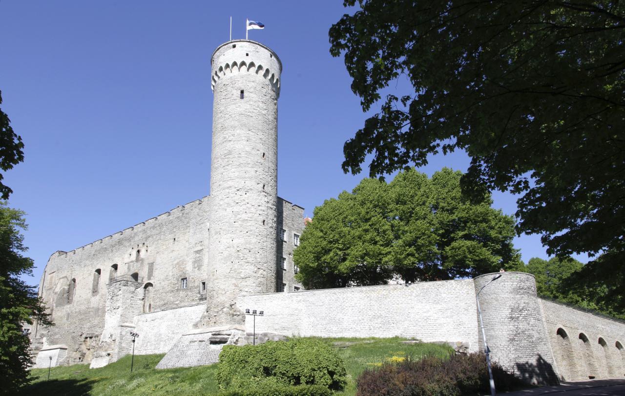 Eesti lipp Pika Hermanni tornis.