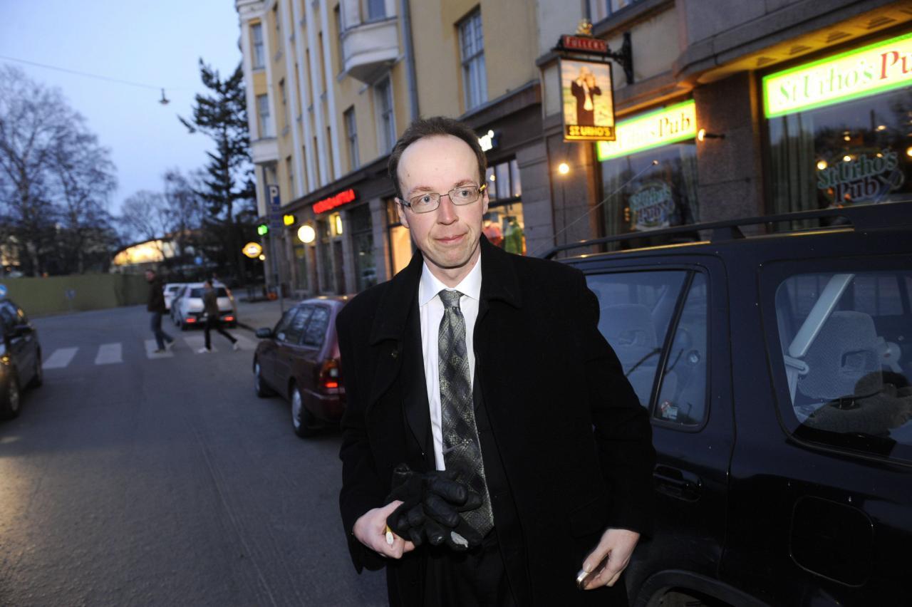 Põlissoomlaste liider ja eurosaadik Jussi Halla-Aho.