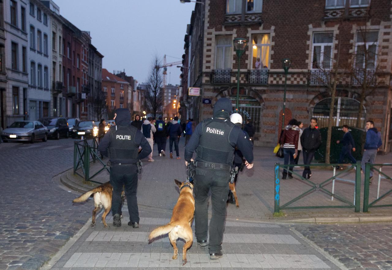 Brüssel on immigrante täis linn, kus politsei on terroriohu tõttu pidevalt kõrgendatud valmiduses.