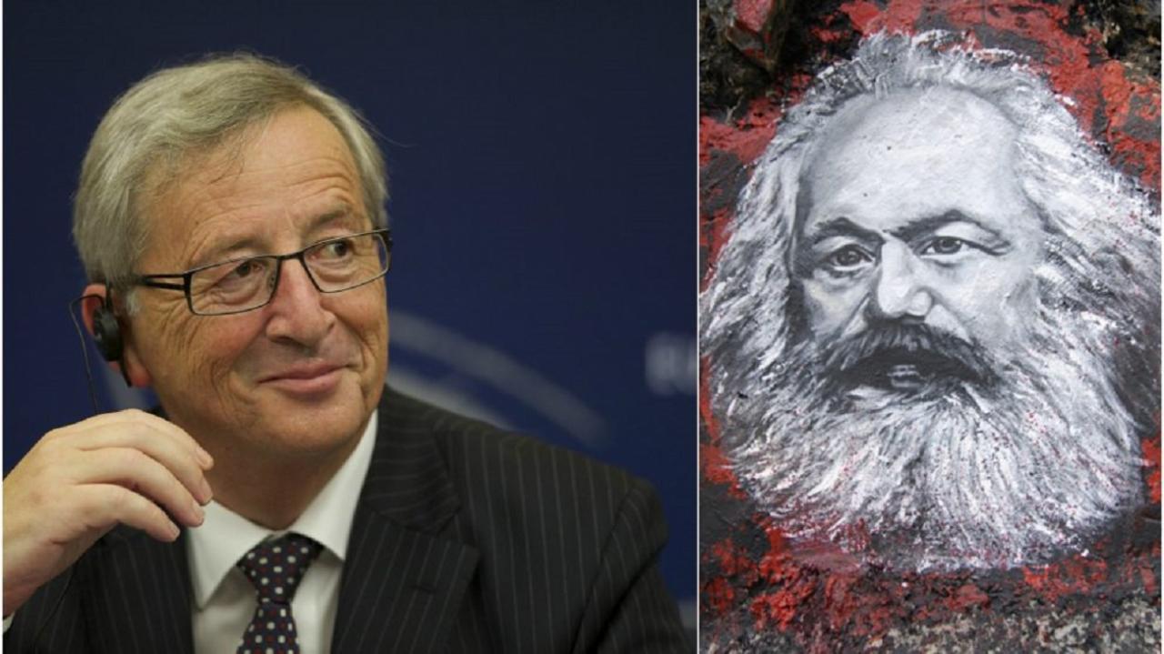 Juncker ja Marx