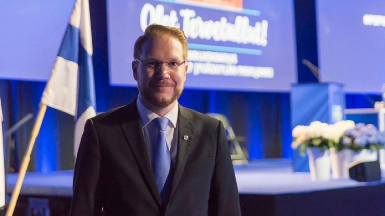 Põlissoomlaste parlamendisaadik Olli Immonen