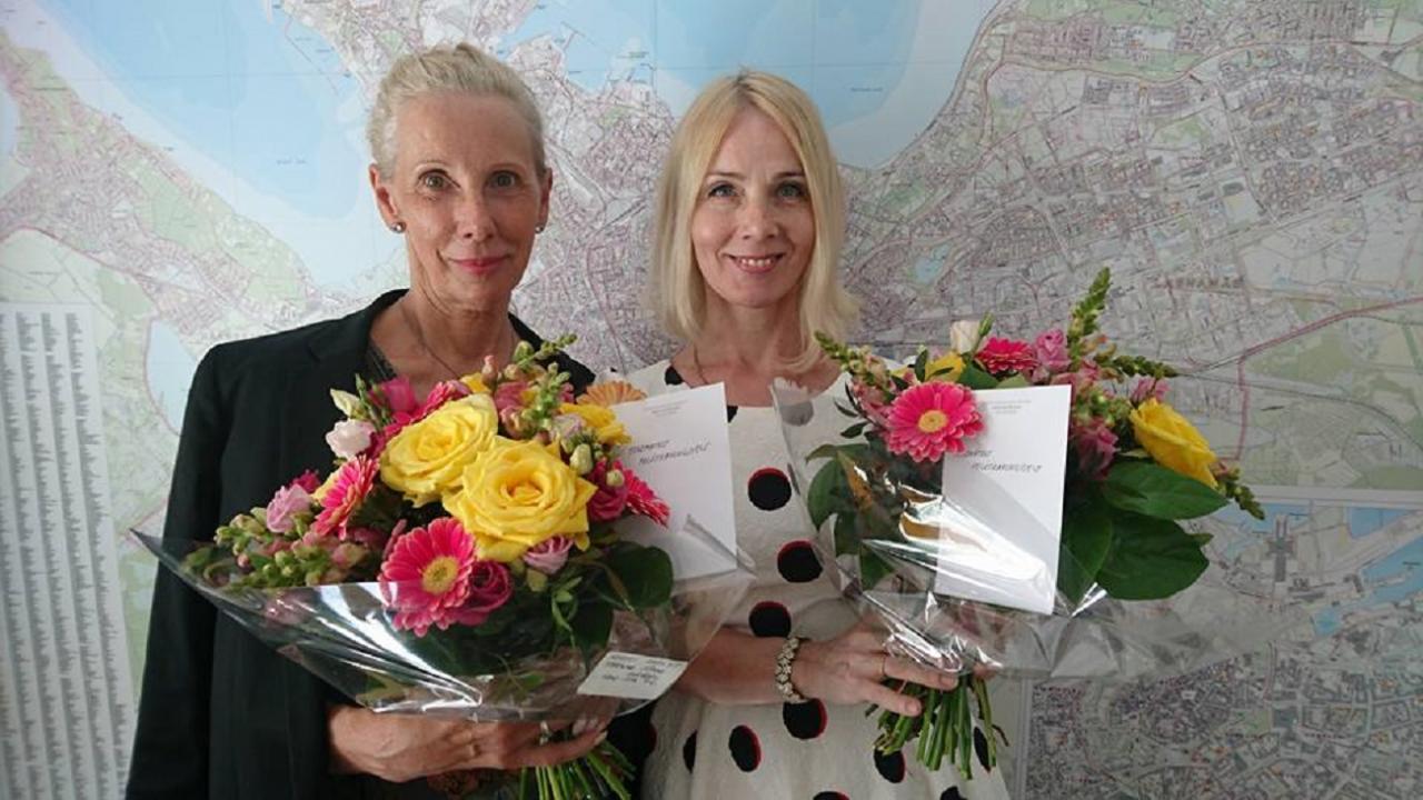 EKRE naised Tallinna volikogus Kersti Kracht ja Helle-Moonika Helme.