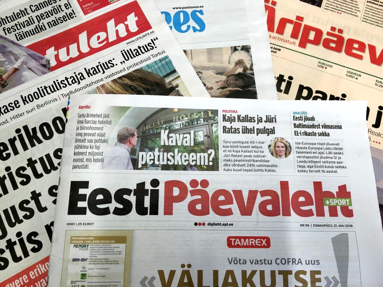 Ajakirjandus kukkus esimese saja päevaga läbi.