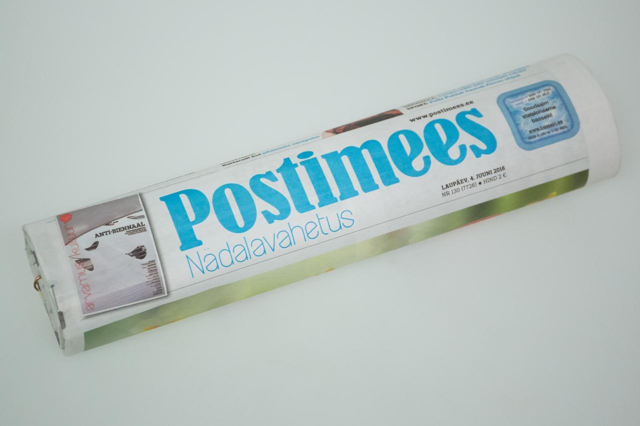 Postimees kinnitas Soome-uudisega, et rahvuslik loosung päises ei tähenda kvaliteetlehte