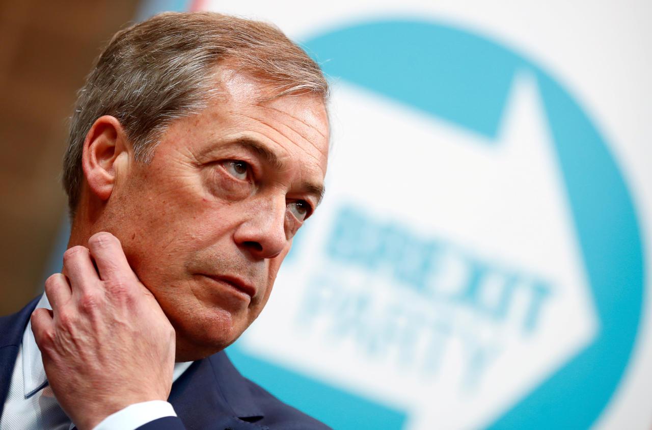 Europarlamendi valimiste eel toetab enim britte Brexiti Parteid