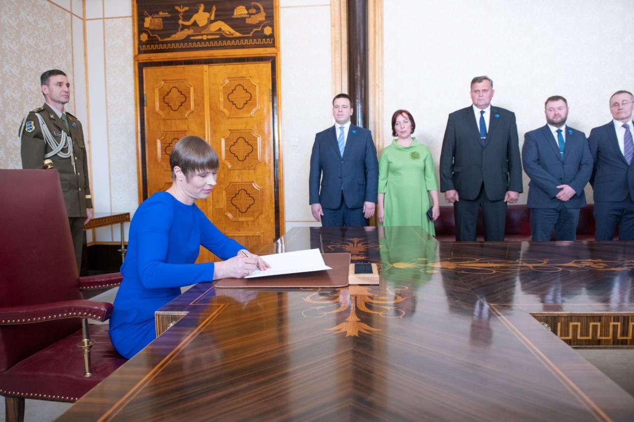 Kersti Kaljulaid koalitsiooni presidendikandidaat? Lubage naerda…