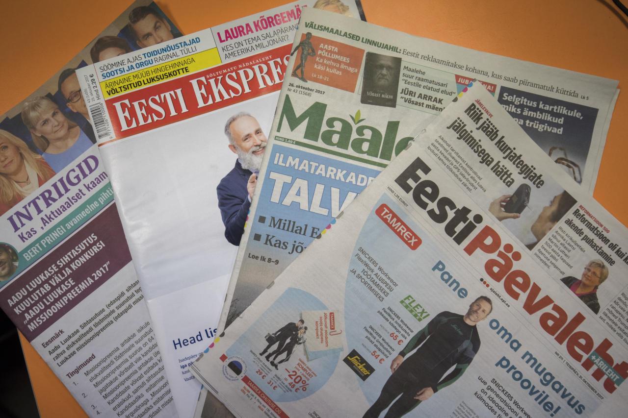 Raivo Paas: ajakirjandus üritab näidata oma kindlat pilti maailmast