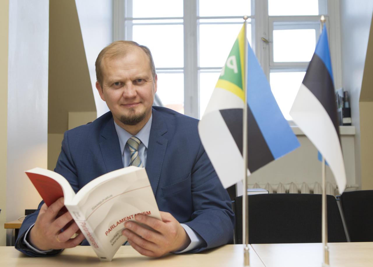 Eesti üks tuntuimaid euroskeptikuid on EKRE kandidaat Euroopa Parlamenti Anti Poolamets