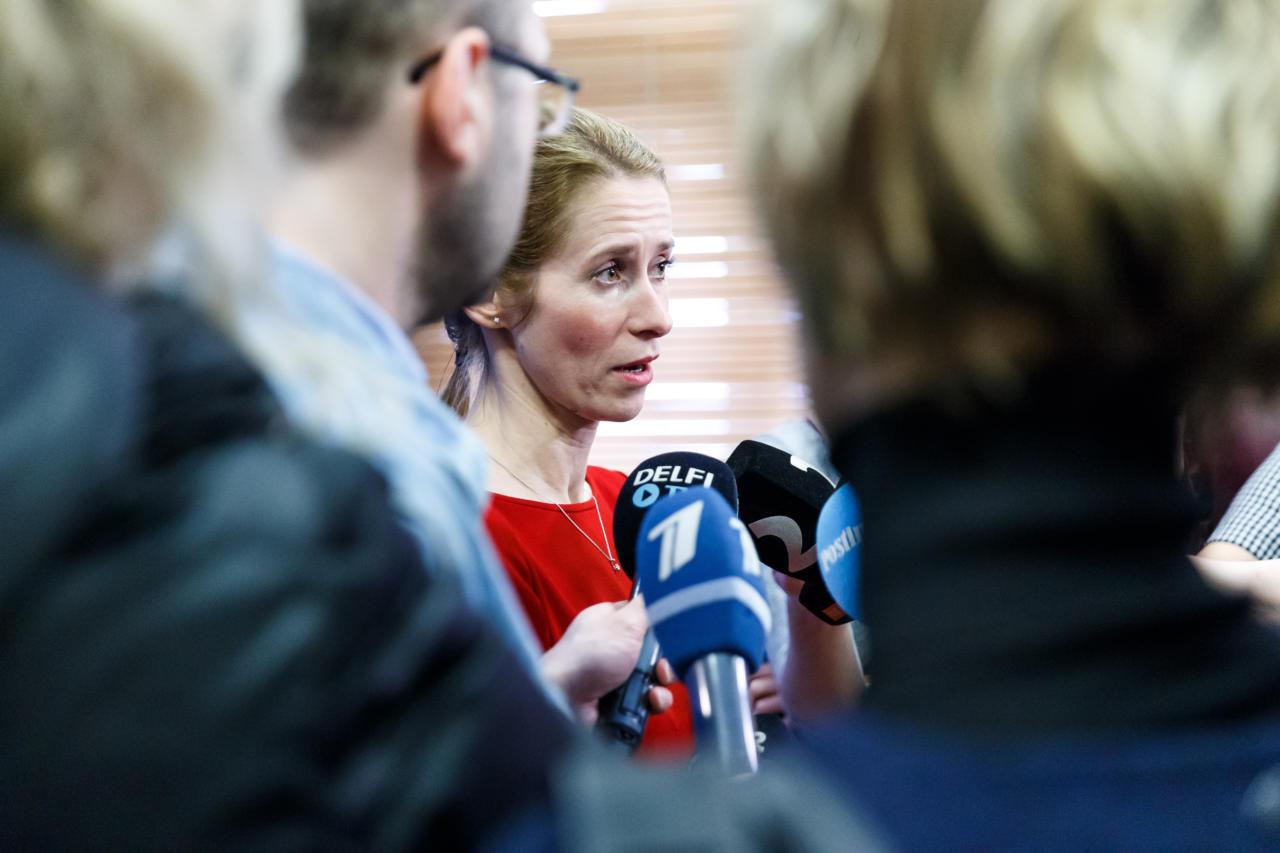 Eesti Ekspress: Kaja Kallas saab kriitikat ka omade käest