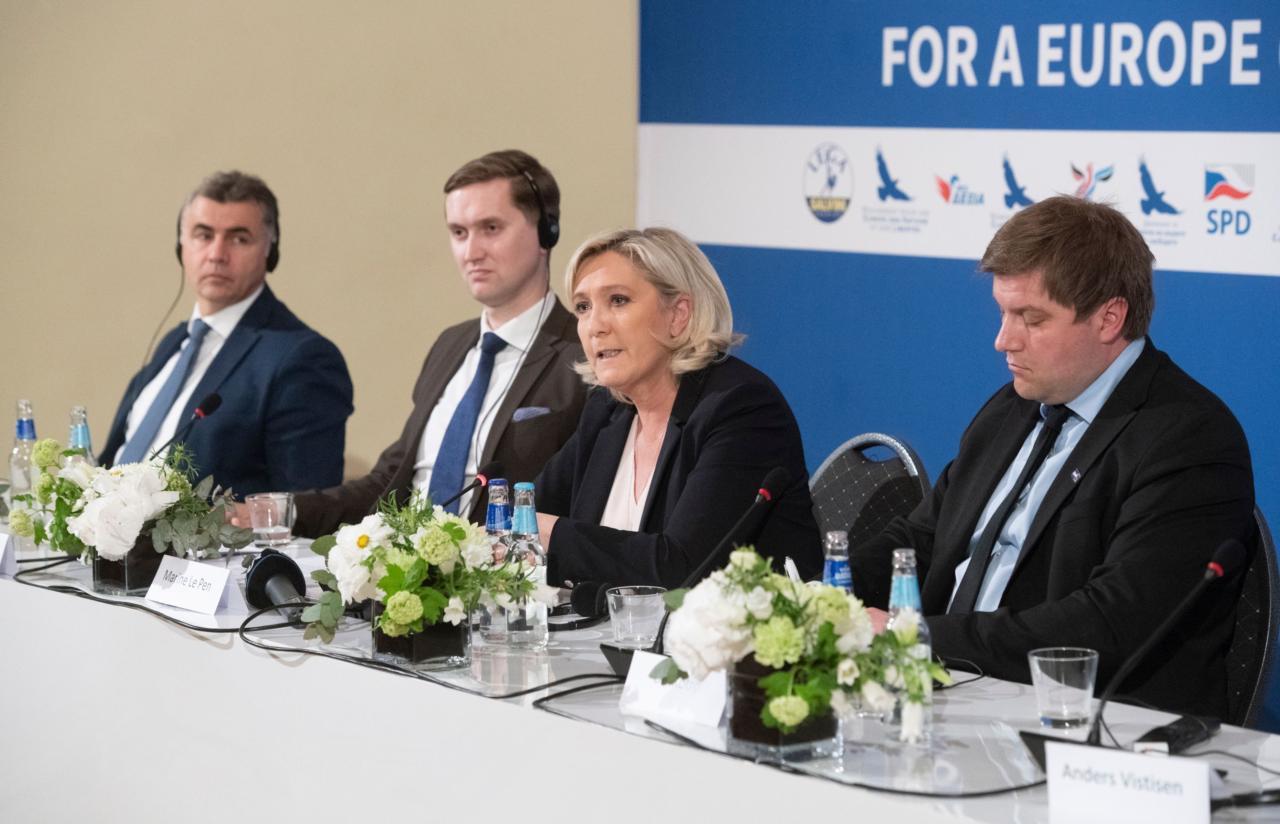 """Marin Le Pen: """"EKRE on suur tulevikupartei"""""""