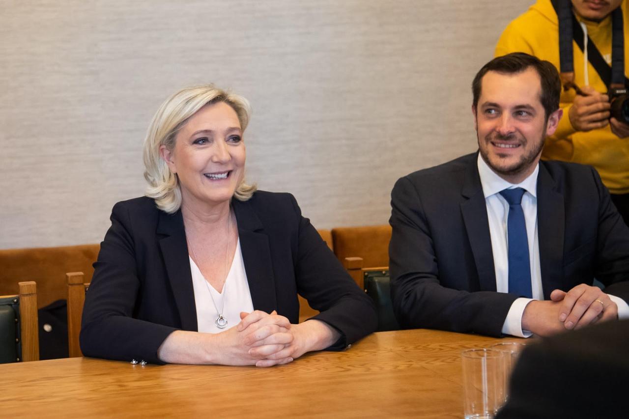 Kogu möll Marine Le Peni visiidi ümber on poliitilise kasu otsimisest tekitatud ülepingutamine