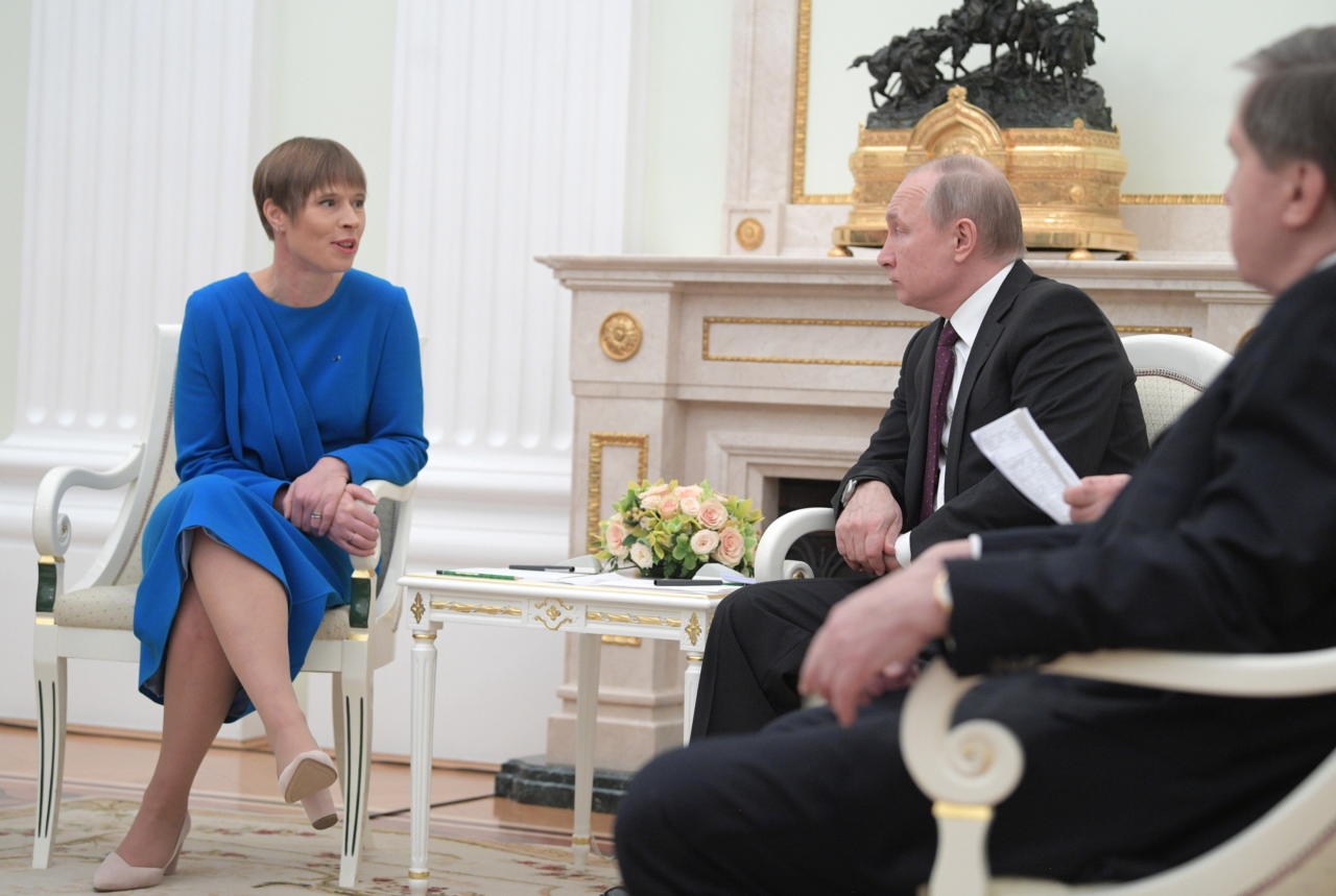Paedad, mikserid ja rõivased, tõmmake tagasi: kui president rääkis Moskvas eesti keeles, miks te siis ei kobisenud