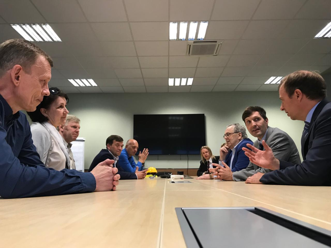 Eesti Energia ametiühinguliidrid tänasid Martin Helmet